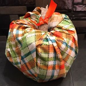 Fall fabric pumpkin!